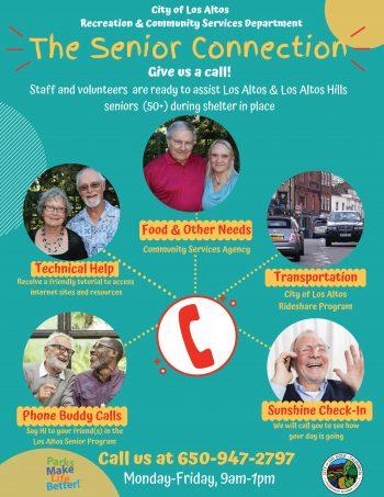 Senior Connection Flyer pic